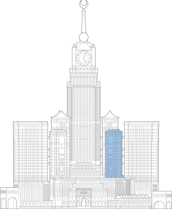 Abraj Al Bait Marwah Tower Outline