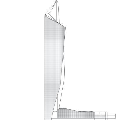 Al hamra tower the skyscraper center for Office design hamra