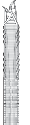 Al Hekma Tower Outline
