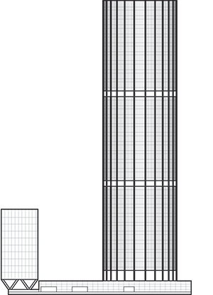 Australia Square Tower Outline