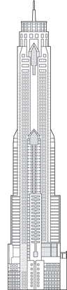 Baiyoke Tower II Outline