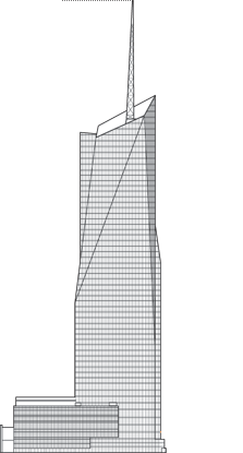 Bank of America Tower Outline