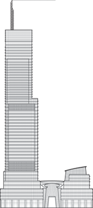 Bloomberg Tower Outline
