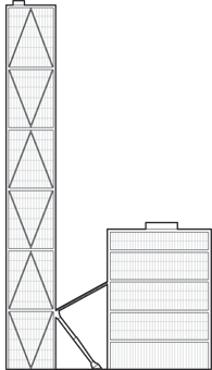 The Broadgate Tower Outline