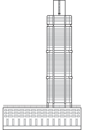 CPF Building Outline