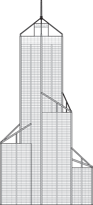 Central Park Tower Outline