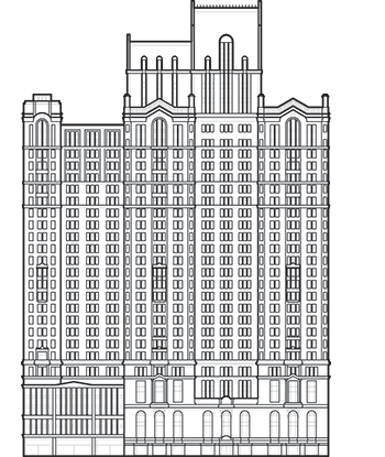 City Investing Building Outline