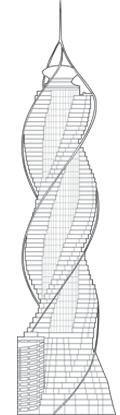 Diamond Tower Outline