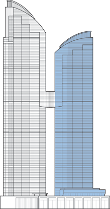 East Pacific Center Tower B Outline