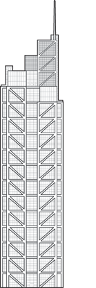 Salesforce Tower Outline