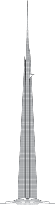 Jeddah Tower Outline