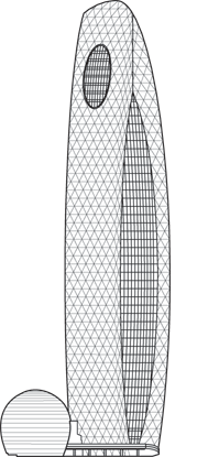 Mode Gakuen Cocoon Tower Outline