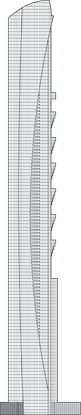 Pentominium Tower Outline