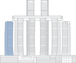 Raffles City Chongqing T1 Outline