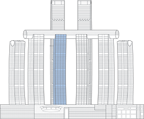 Raffles City Chongqing T3S Outline