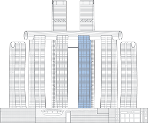 Raffles City Chongqing T4S Outline