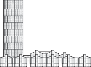 SOHO Fuxing Plaza Outline