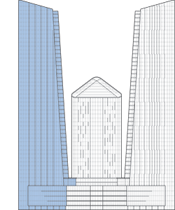 Skyland Office Tower Outline