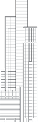 Bicsa Financial Center Outline