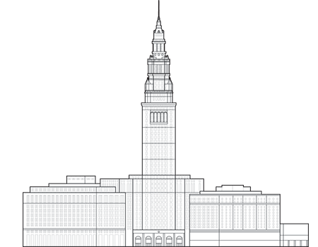 Terminal Tower Outline