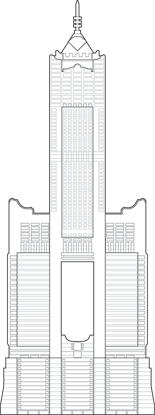 T & C Tower Outline