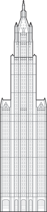 Woolworth Building Outline