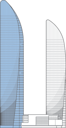 Xiamen Shimao Straits Tower B Outline