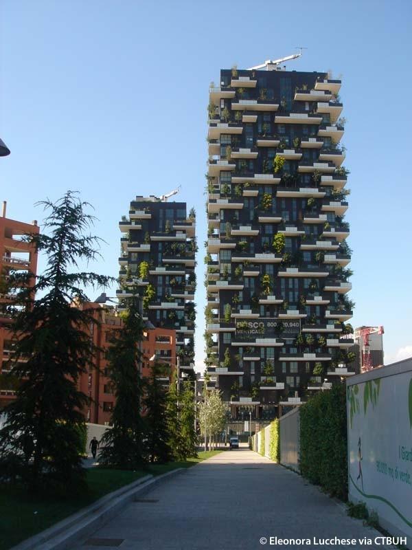 Bosco verticale complex the skyscraper center - Bosco verticale ...